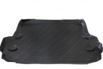 L.Locker Коврик в багажник Lexus LX 570/Toyota Land Cruiser 200 полимерный