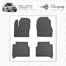 Коврики резиновые Ford Connect 14-  Stingray