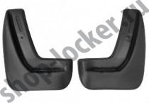 L.Locker Брызговики Chevrolet Aveo II HB 2012- задние к-т