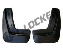Брызговики Chevrolet Aveo II SD 2012- задние к-т L.Locker