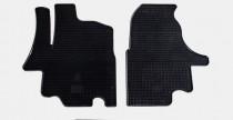 Коврики резиновые Nissan Interstar/Renault Master/Opel Movano 98-/03- передние 2 шт Stingray
