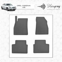 Stingray Коврики резиновые Opel Insignia 2009-2017
