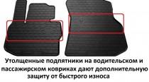 Stingray Коврики резиновые Skoda Superb I 2001-2008 передние