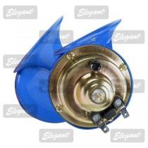 Сигнал звуковой «улитка» 2-тоновый Compact 12V синий Elegant