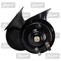 Сигнал звуковой «улитка» 2-тоновый Compact 12V черный Elegant