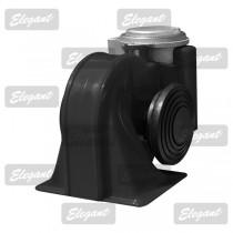 Сигнал звуковой «улитка» 2-тоновый Nautilus 12V черный Elegant