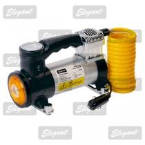 Компрессор автомобильный (насос) FORCE MAXI (12082) +сигнальный фонарь Elegant