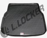 Коврик в багажник Mercedes C-class (W204) sedan 2007-2011  полиуретановый L.Locker