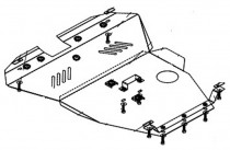 Кольчуга Защита двигателя Chery Eastar 2004-