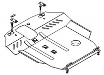 Кольчуга Защита двигателя Chery Elara I поколение 2006-2011