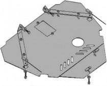 Кольчуга Защита двигателя Ford S-Max 2006, дизель