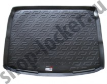 Коврик в багажник Nissan Qashgai  2014- полимерный  L.Locker