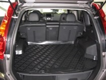 Коврик в багажник Nissan X-Trail 2000-2007 полимерный  L.Locker