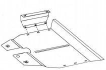 Кольчуга Защита двигателя Seat Alhambra 1996-2010