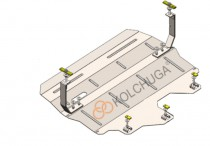 Кольчуга Защита двигателя Skoda Rapid 2012-2016-