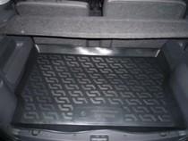 Коврик в багажник Opel Meriva A 2002-2010 полимерный  L.Locker