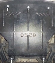 Кольчуга Защита двигателя Volkswagen Caddy 1995-2004, V 1.9SDI