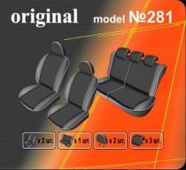 Оригинальные чехлы Fiat Doblo 2010- EMC