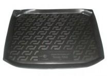 L.Locker Коврик в багажник Skoda Fabia hatchback 1999-2007 полимерный