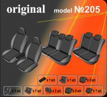Оригинальные чехлы Nissan Pathfinder 2005-2012 7 мест EMC