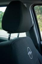 Оригинальные чехлы Opel Astra H UN задняя спинка деленная EMC