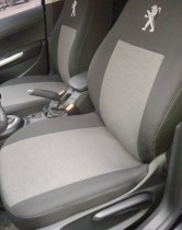 EMC Оригинальные чехлы Peugeot 301 задняя спинка цельная