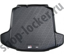 L.Locker Коврик в багажник Seat Toledo 2012- полимерный