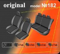 Оригинальные чехлы Renault Logan MCV 2006-2013 5 мест деленный салон EMC