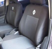 Оригинальные чехлы Renault Sandero 2008-2012 задняя спинка раздельная EMC