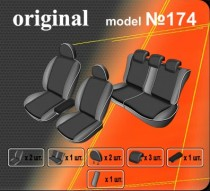Оригинальные чехлы Seat Altea XL со столиками EMC