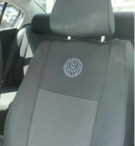 Оригинальные чехлы VW Polo Sedan 2010- деленная спинка EMC