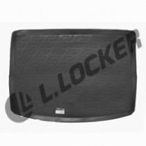 L.Locker Коврик в багажник Suzuki SX4 hatchback 2013- верхний полимерный