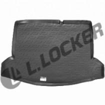 L.Locker Коврик в багажник Suzuki SX4 hatchback 2013- нижний полимерный