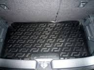 L.Locker Коврик в багажник Suzuki Swift 2005-2011 нижний полимерный