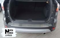 NataNiko Накладка с загибом на бампер Ford Kuga II 2012-
