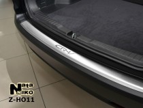 NataNiko Накладка с загибом на бампер Honda CR-V 2013-