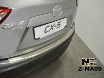 NataNiko Накладка с загибом на бампер Mazda CX 5