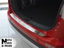 NataNiko Накладка на задний бампер Mitsubishi Outlander III 2012-2014