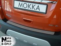 NataNiko Накладка на задний бампер Opel Mokka