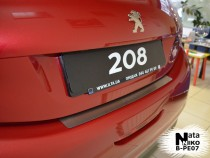 NataNiko Накладка на задний бампер Peugeot 208