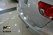 NataNiko Накладка на задний бампер Seat Altea XL/Freetrack