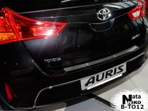 NataNiko Накладка на задний бампер Toyota Auris 2012-2015