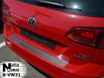 NataNiko Накладка на задний бампер VW Golf 7 Variant