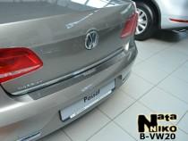 NataNiko Накладка на задний бампер VW Passat B7sedan