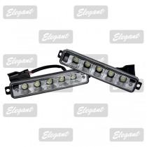 Дневные ходовые огни Maxi 1W*5LED, 167*30*40мм с автопереключателем света