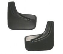 Брызговики Fiat Albea 2002- задние к-т L.Locker