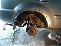 Mega Locker Защита колесных арок Nissan X-Trail T30 2001-2007 задние