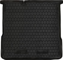 Полиуретановый коврик багажника Chevrolet Aveo 2011- sedan Avto Gumm