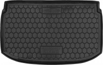 Полиуретановый коврик багажника Chevrolet Aveo 2011- hb Avto Gumm