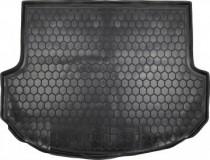 Полиуретановый коврик багажника Hyundai Santa Fe 2012- 5 мест Avto Gumm